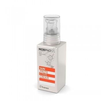 Framesi Morphosis Sun Protective Cream (cолнцезащитный крем для волос), 100мл - купить, цена со скидкой